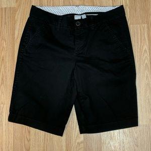 JCP black shorts